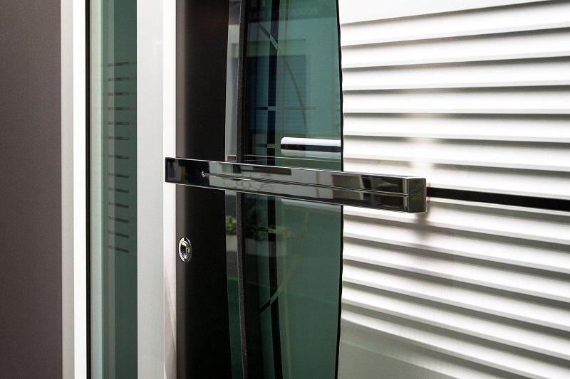 Aluminiumtüren - neue Dimension der Sicherheit zu Hause